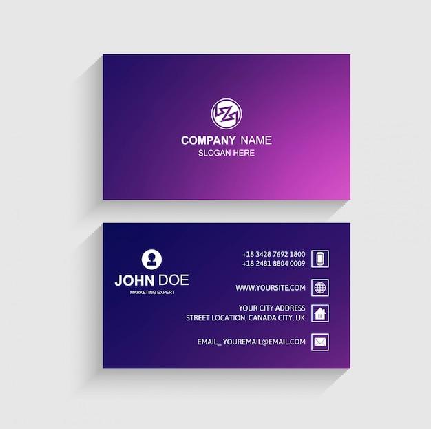Design de cartão colorido abstrato Vetor grátis