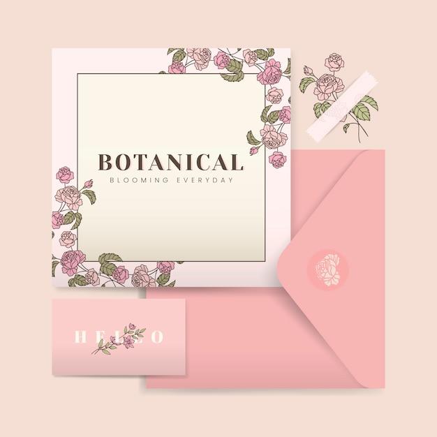 Design de cartão de casamento Vetor grátis