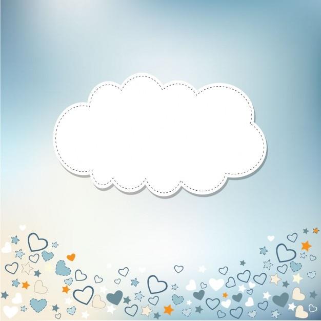 Design de cartão de modelo para o aniversário bebê chuveiro ou de casamento Vetor grátis