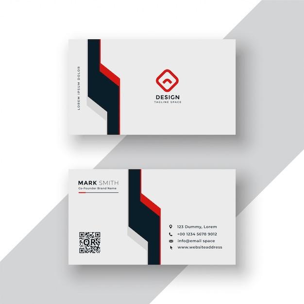 Design de cartão geométrico mínimo Vetor grátis