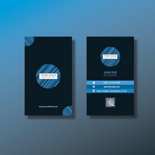 Design de cartão vertical Vetor grátis