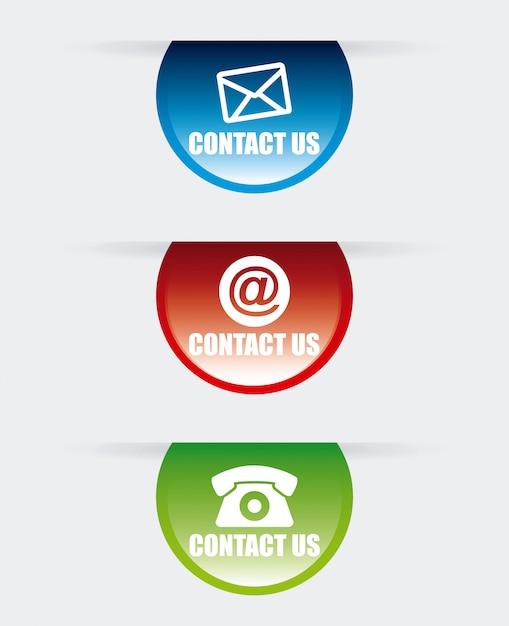 Design de comunicação Vetor Premium