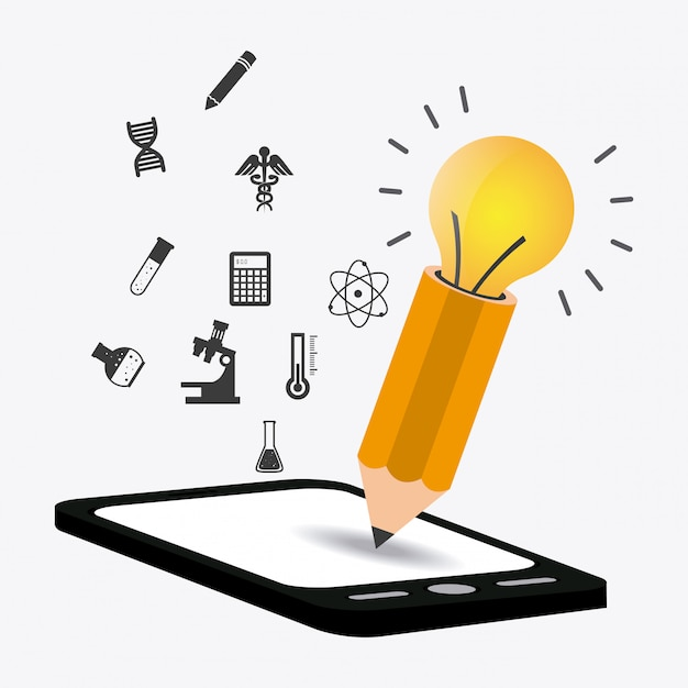 Design de ebook. Vetor Premium