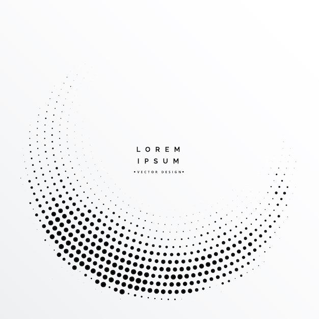 Design de fundo abstrato de pontos de meio-tom Vetor grátis