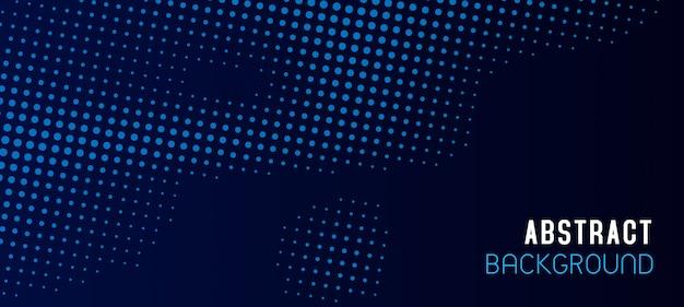 Design de fundo abstrato moderno de meio-tom Vetor Premium