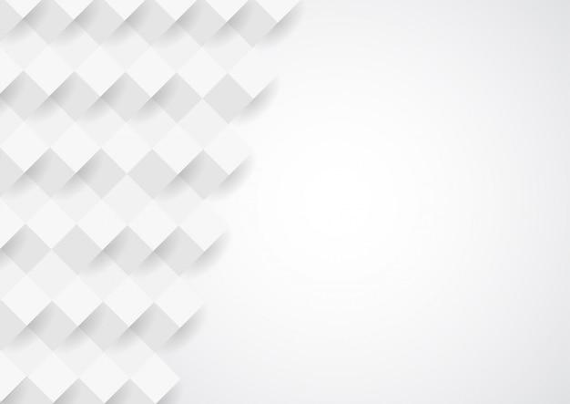 Design de fundo abstrato textura branca Vetor Premium