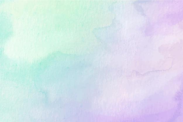 Design de fundo pastel aquarela Vetor Premium