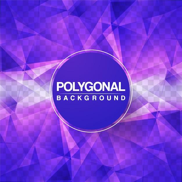 Design de fundo poligonal roxo Vetor grátis