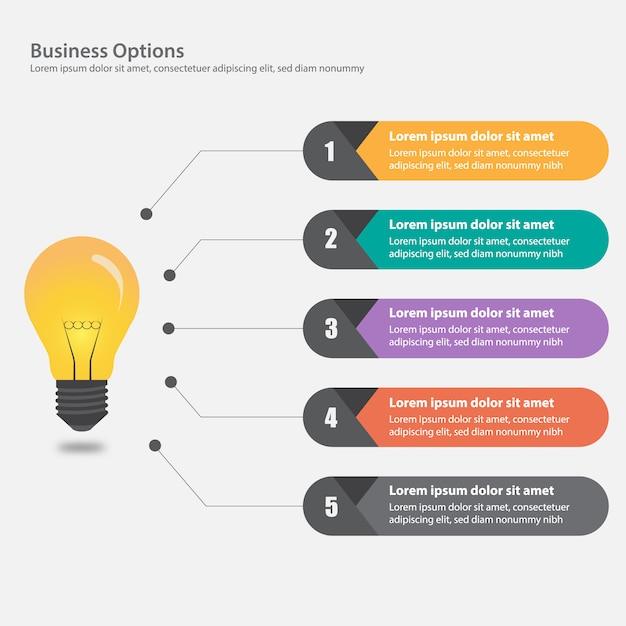 Design de infografia de negócios Vetor grátis