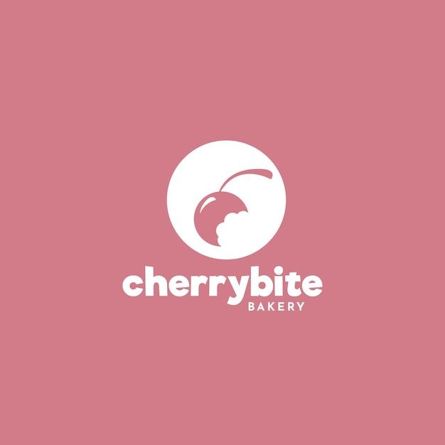 Design de logotipo de bolo de padaria Vetor grátis