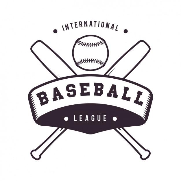 Design de logotipo do basebol modelo Vetor grátis