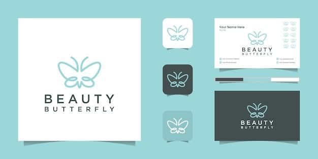 Design de logotipo para localização de casa inteligente e cartão de visita Vetor Premium