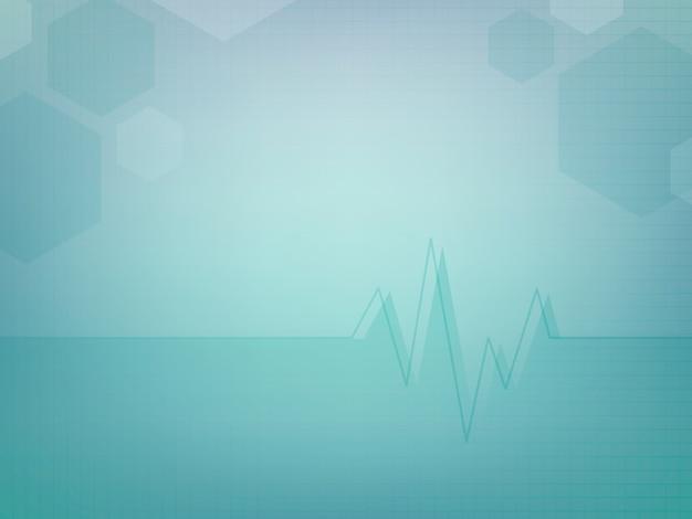 Design de modelo de papel de parede médico abstrato Vetor grátis