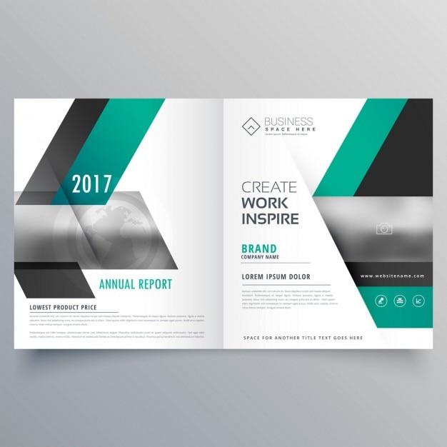 Design De P 225 Gina De Revista Capa Livreto Empresa Para A