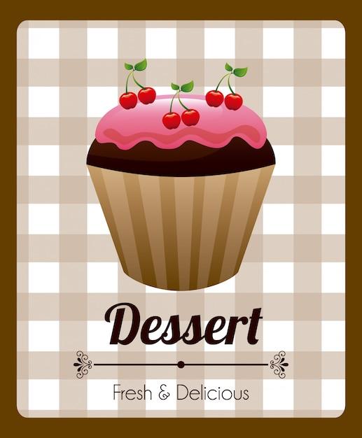 Design de pastelaria Vetor grátis
