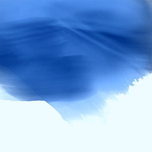 Design De Plano De Fundo Azul Textura Aquarela Baixar Vetores Gr Tis
