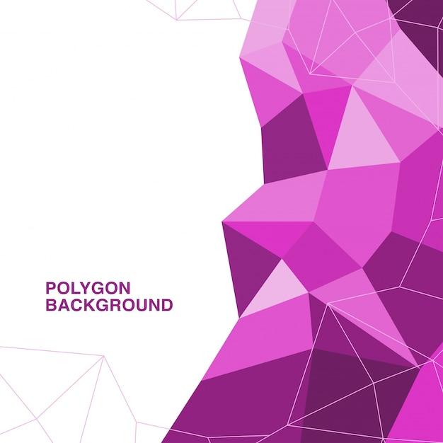 Design de polígono vetorial Vetor grátis