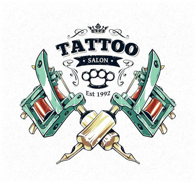 Design de tatuagem Vetor grátis