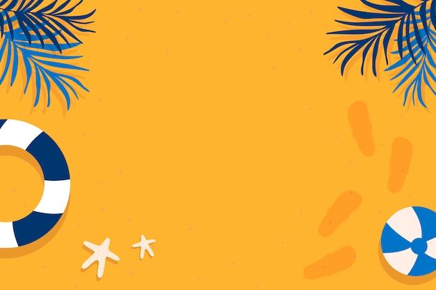 Design de verão tropical Vetor grátis