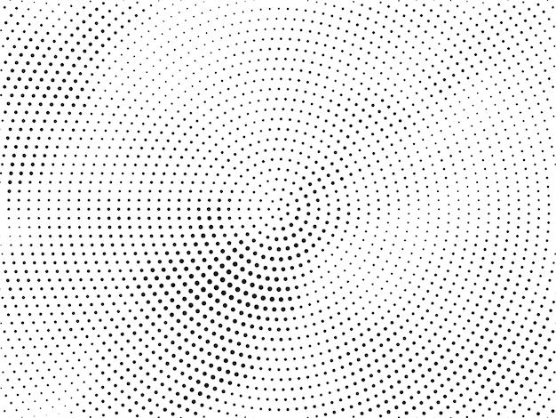 Design decorativo de meio-tom abstrato Vetor grátis