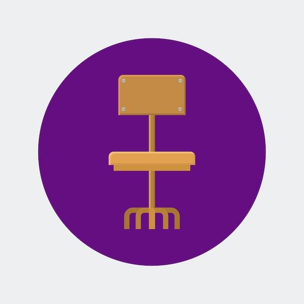 Design digital de ícones de terceirização Vetor Premium