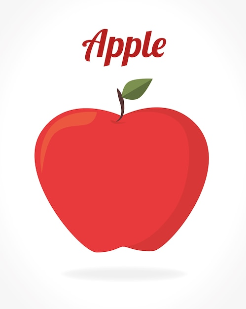 Design frutas Vetor Premium