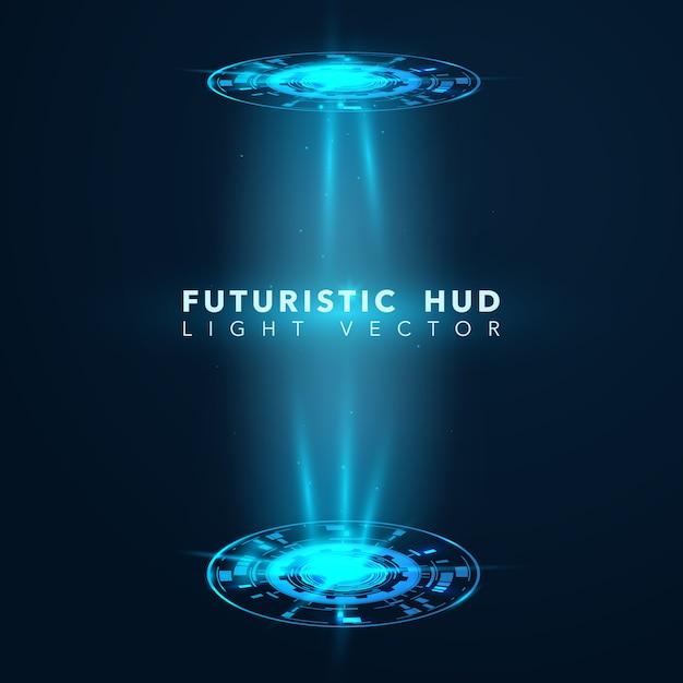 Design futurista Vetor Premium