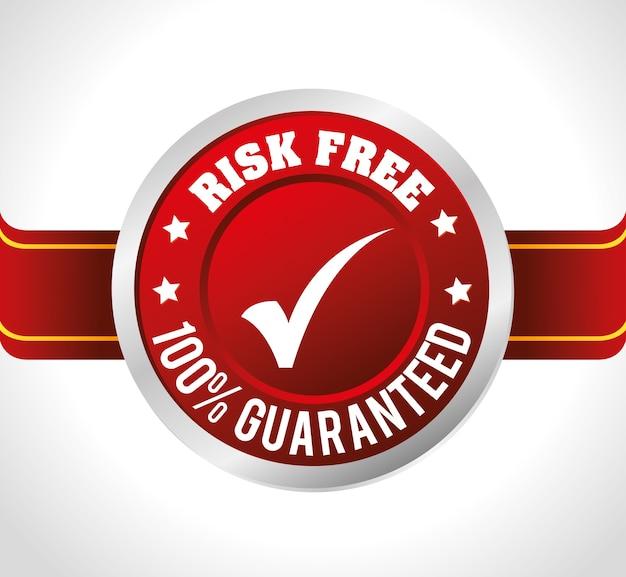 Design livre de risco. Vetor Premium