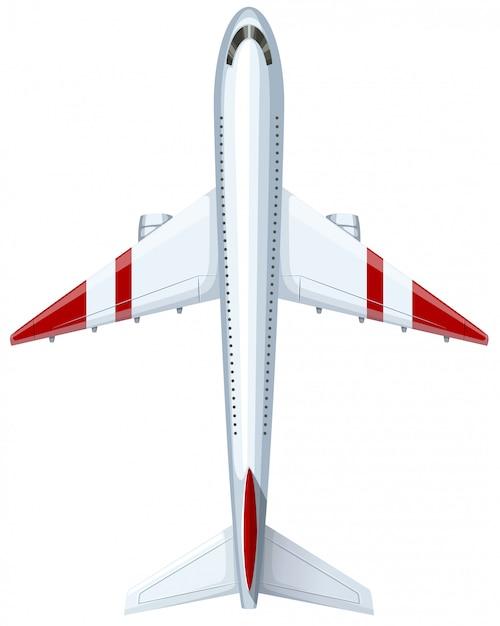 Design moderno de avião Vetor grátis