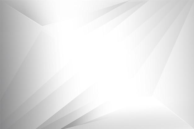 Design moderno de papel de parede branco elegante textura Vetor grátis