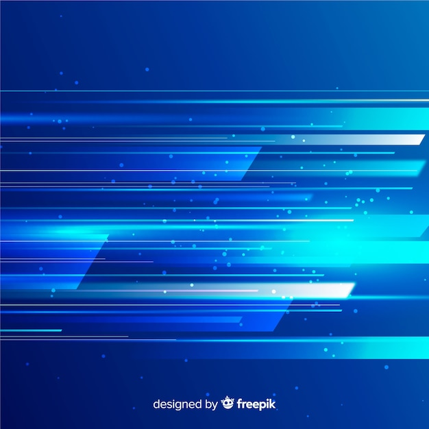 Design plano de fundo de luz movimento Vetor grátis