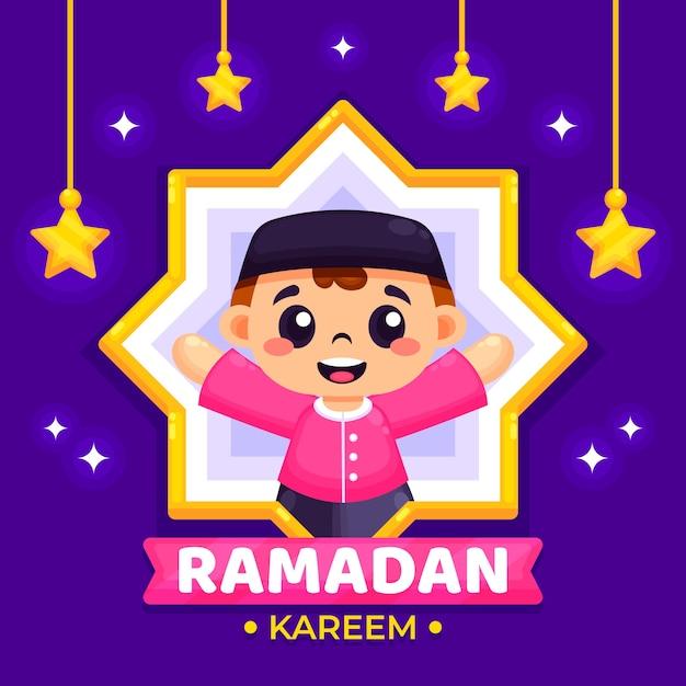 Design plano de fundo do ramadã Vetor grátis