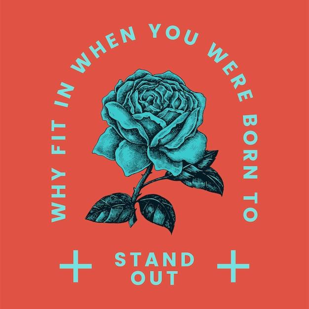 Destacam-se o vetor de design de logotipo rosa Vetor grátis
