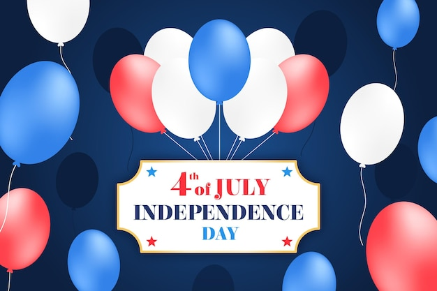 Dia da independência plano de fundo design Vetor grátis