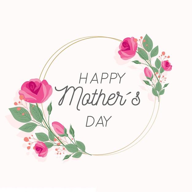 Dia das mães estilo floral Vetor grátis