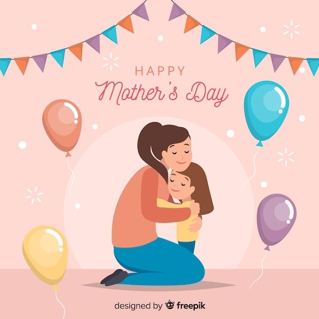 Dia das mães Vetor grátis