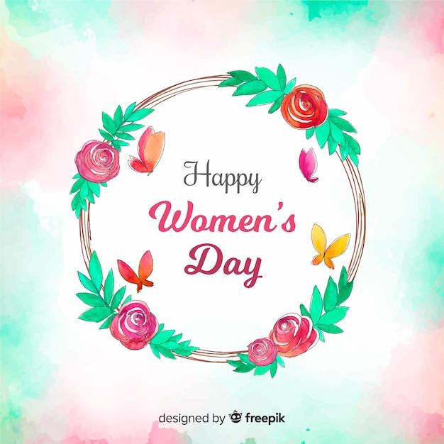 Dia das mulheres Vetor grátis