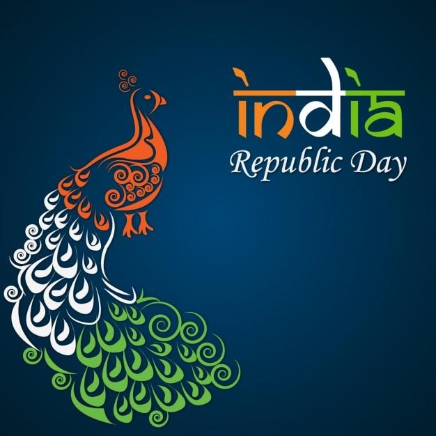 Día de la república de la india Vetor grátis