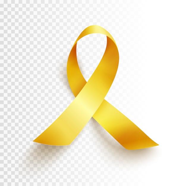 Dia do câncer infantil isolado Vetor Premium