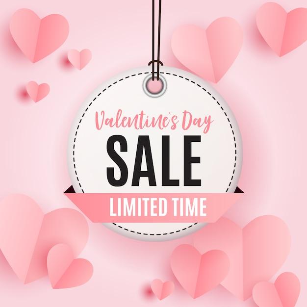 Dia dos namorados coração símbolo. amor e sentimentos Vetor Premium