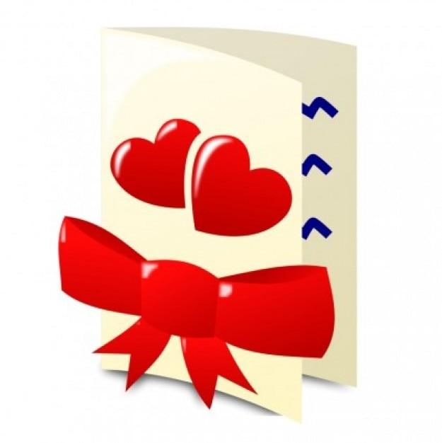 Dia dos namorados ícone clip art vector - vetor livre para download gratuito Vetor grátis