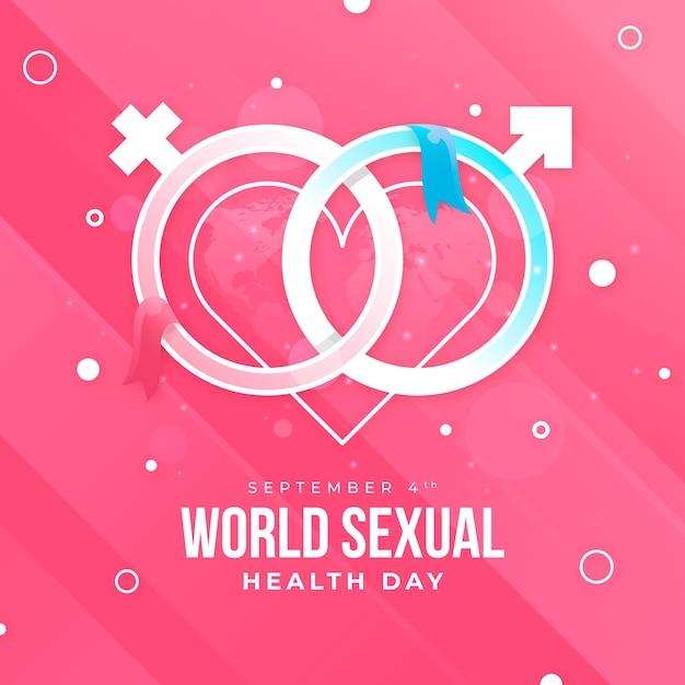 Dia mundial da saúde sexual Vetor grátis
