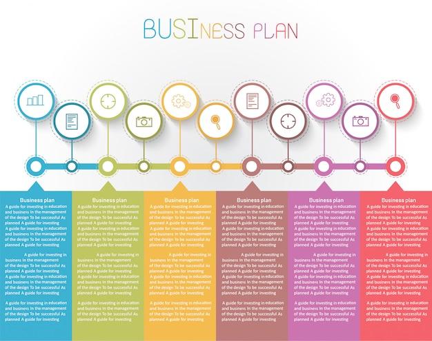 Diagrama de educação. existem 11 etapas, nível use vetores no design Vetor Premium