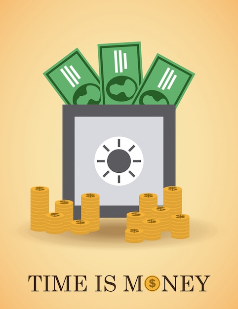 Dinheiro simples elemento Vetor grátis
