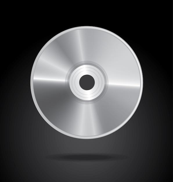 Disco compacto Vetor Premium