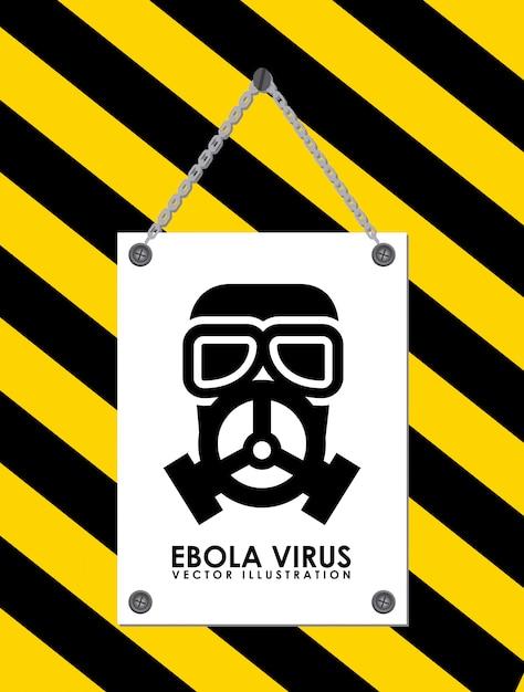 Ebola Vetor grátis