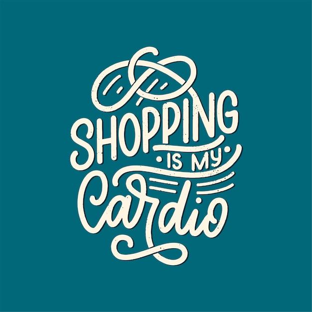 Eco bag impressão para o pano. publicidade no varejo. citação de letras para o conceito de ambiente. Vetor Premium