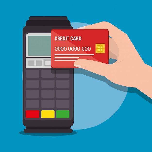 Economizar dinheiro conjunto de ícones Vetor grátis