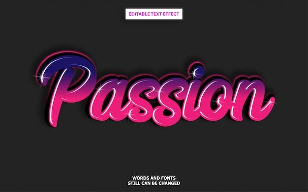 Efeito de fonte editável de estilo de texto de graffiti Vetor Premium