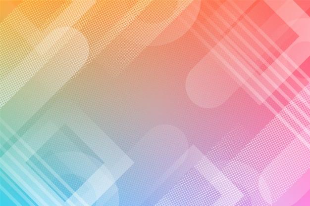 Efeito de meio-tom em fundo gradiente Vetor grátis